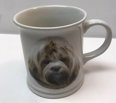 2003 Barbara Augello LHASA APSO Dog cannine Coffee Tea Cup Mug 3-D