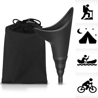 Pee Standing Up Female Urination Device Silicone Portable For Traveling Bathroom