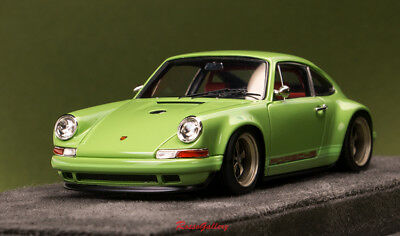 1/43 MODEL MAKE Up Porsche Singer 911 (964) Refresh Green RGVM111SP Last