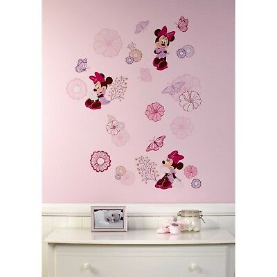 Minnie Mouse: Butterfly Dreams Removable Wall Decals by Disney Baby