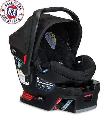 Britax B Safe 35 Infant Car Seat Click & Go Baby Toddler Safety Chair Black
