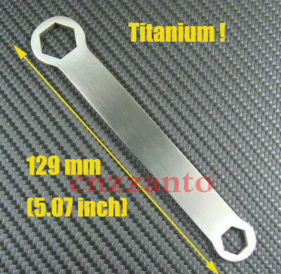 Totally Titanium 6 point wrench spanner 10mm 15mm metric hand tools Ti065