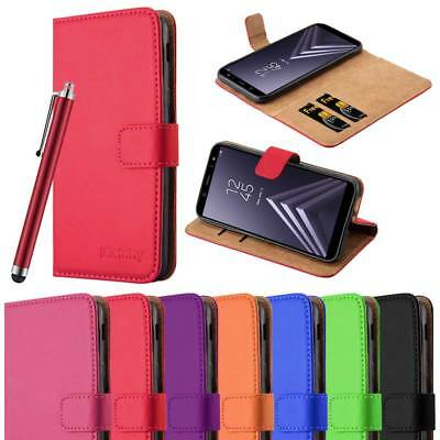 For Samsung Galaxy A6 Phone Case Luxury Premium Leather Flip Wallet Card Cover