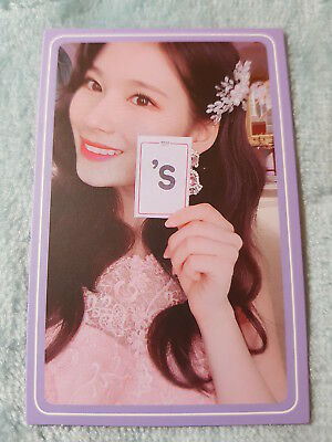 36)TWICE 5th Mini Album What Is Love? Sana Type-9 PhotoCard Official K-POP