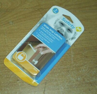 Dorel Wide Grip0- Latches Keep Cabinets Off Limits To Little Ones 7 Pack 48444
