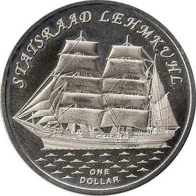 "Gilbert Islands 1 Dollar 2018 ""Statsraad Lehmkuhl"""