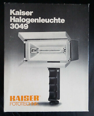 Lampara Halogena Kaiser Typ 3049 OVP Boxed Mint Working
