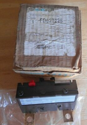 Siemens FD62T225 2 pole 225 amp 600v circuit breaker trip unit, NEW in Ugly Box
