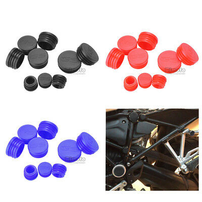 Frame Hole Cover Caps Plugs Decor Set For BMW  R1200GS/LS/ADV 2017-2018