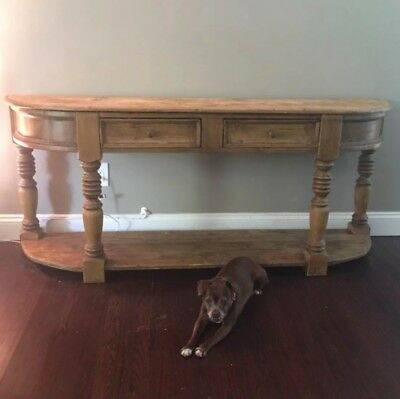 Early 1900s Pine Farmhouse Sideboard