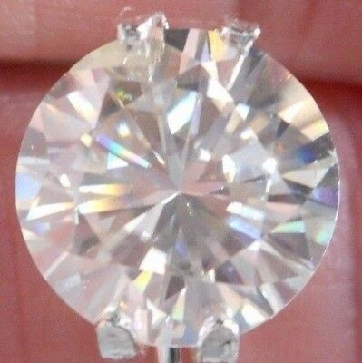 6.65 Carat VVS1 DEF Loose Brilliant White Moissanite 12.66mm x 7.66mm For Ring