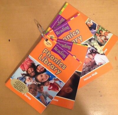 2ND GRADE 2 Reading Phonics Library Books Houghton Mifflin SET Homeschool Reader