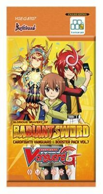 CFV Cardfight!! Vanguard TCG: 1x  Radiant Sword: Booster Pack - Sealed Product