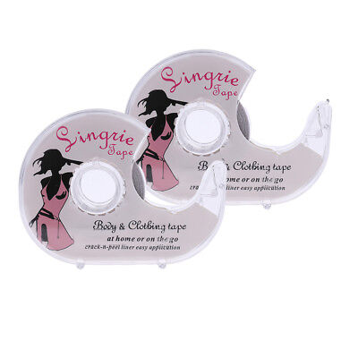 2x Double-Sided Lingerie Tape Adhesive For Clothes Dress Body Wedding Prom