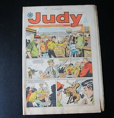 JUDY COMIC No. 52027th Dec 1969