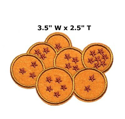 NEW DragonBall DBZ Embroidered Iron or Sew-on Patch Anime Manga Collection