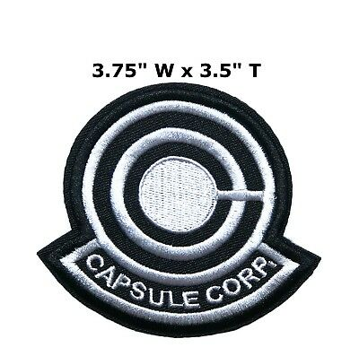 *NEW* DragonBall SUPER DBZ Patch Capsule Corp AUTHENTIC Licensed RARE