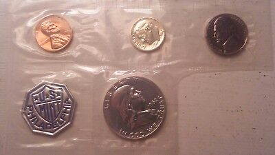 1962 U.S States Silver Partial Proof Set In Cello