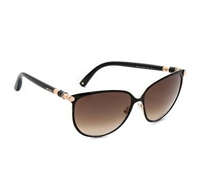 9e1be2af934 🍀JIMMY CHOO POSIE 60MM Round Sunglasses Retail   390 New Authentic ...