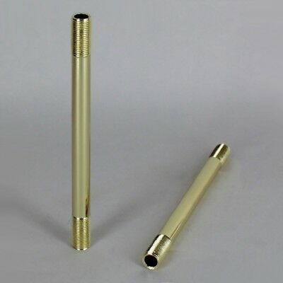 BRASS STRAIGHT LAMP PIPE ~ Lamp Making or Repair { 19 Sizes } ~ by PLD