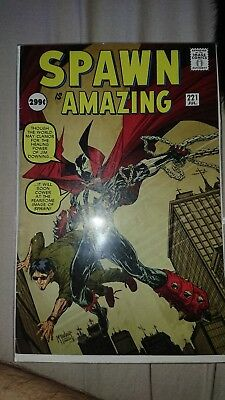 Spawn #221 McFarlane Amazing Fantasy 15 Homage Cover