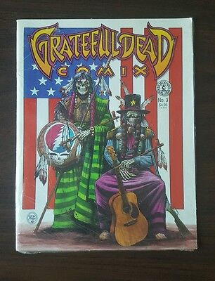 Grateful Dead Comix #3 1991 High Grade Magazine Size Comic STILL shrink wrapped!