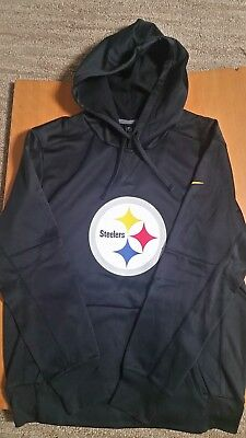 super popular 8a16e 73bc8 PITTSBURGH STEELERS BLACK Therma Fit Hoodie