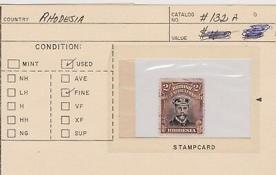 Rhodesia-  Lot 33, Used. Sc# 132A.