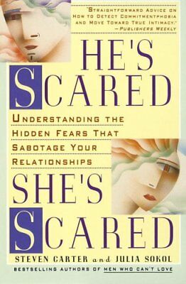 He's Scared, She's Scared by Steven Carter 9780440506256 (Paperback, 1995)