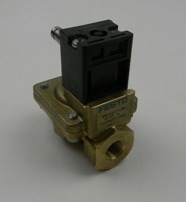 New Festo Solenoid Valve MN1H-2-1/4-MS 161725 0.5bar-10bar 7-145psi