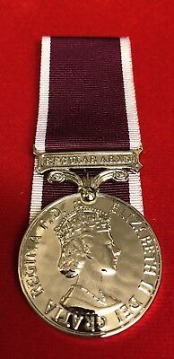 Army Long Service & Good Conduct LSGC Medal EIIR Full Size Superb Copy Replica