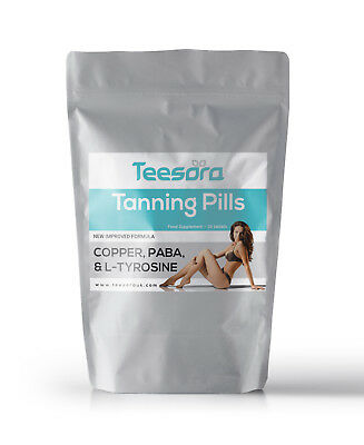 Teesora Tanning Tablets | 1 Month | Strong Safe Accelerator Pills | Healthy Tan