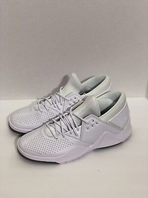 2d9bde38d6efe8 Nike Jordan Flight Fresh Premium Low White Men Bball Shoes AH6462-100 Size  12