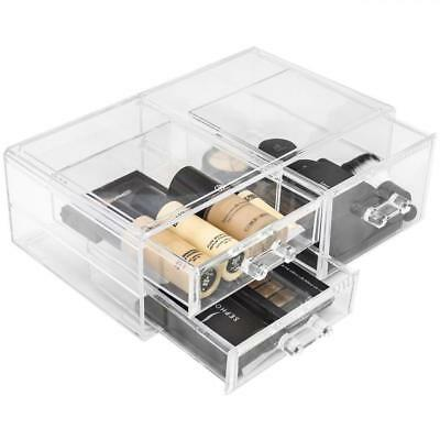 Sorbus Acrylic Cosmetics Makeup and Jewelry Storage Case Display Sets...