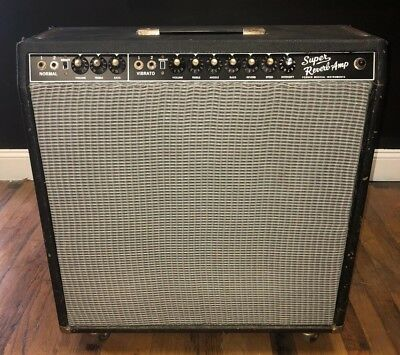 1968 Fender Super Reverb Blackfaced