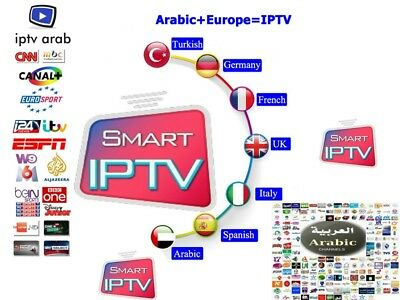 IPTV 12Mois Smart IPTV HD,Full HD Android Ios Smart tv,MAG,KODI.vlc player