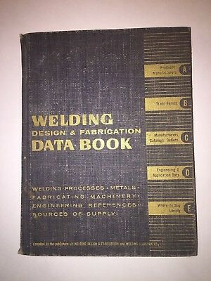 Welding Design & Fabrication Book 1960-61 Edition