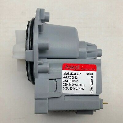 Fisher & Paykel Wash Smart Washing Machine Water Drain Pump WH7560J2 93230-A