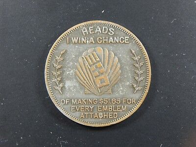 Shell Share the Road Token, RARE Heads & Tails (Z-0026)