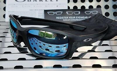 d5a3b8071b258 New Oakley STRAIGHTLINK 9331-05 Sunglasses Matte Black  Prizm Deep h2o  Polarized