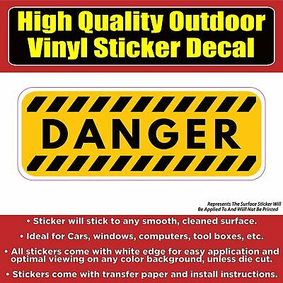 Decals Decal Danger Funny Stay Away From My Fishing Lures car st5 X358X
