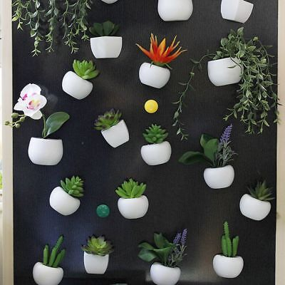 Refrigerator Decal Artificial Plant Flower Magnetic Sticker Fridge Magnets