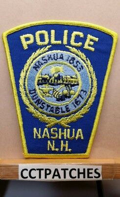 Nashua, New Hampshire Police Shoulder Patch Nh