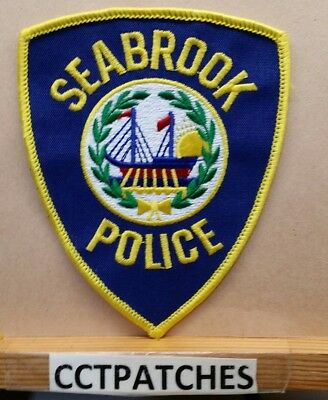 Seabrook, New Hampshire Police Shoulder Patch Nh