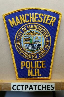 Manchester, New Hampshire Police Shoulder Patch Nh