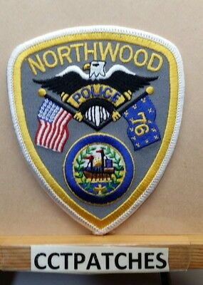 Northwood, New Hampshire Police Shoulder Patch Nh
