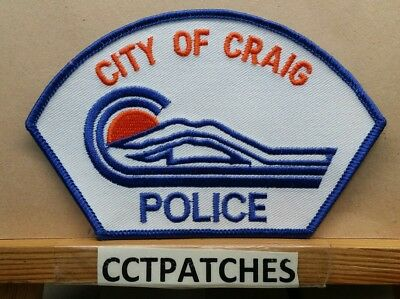 City Of Graig, Colorado Police Shoulder Patch Co
