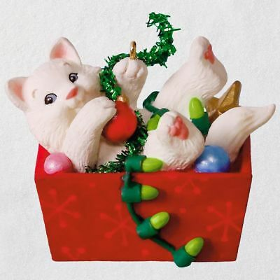 Hallmark 2018 ~ Mischievous Kittens Ornament - 20th in Series