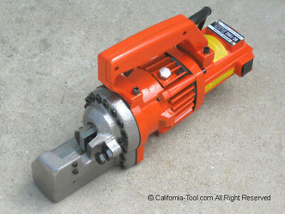 "Portable Electric Hydraulic 3/4"" #6 Rebar Cutter Rc-196C New"
