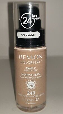 1X - Revlon Colorstay Makeup - #240 Medium Beige Normal / Dry   Spf20
